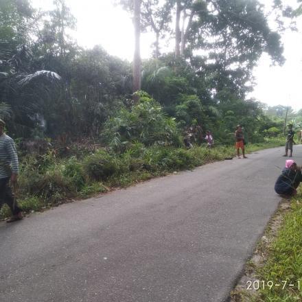 BUDAYA GOTONG ROYONG DESA NANGA BETUNG